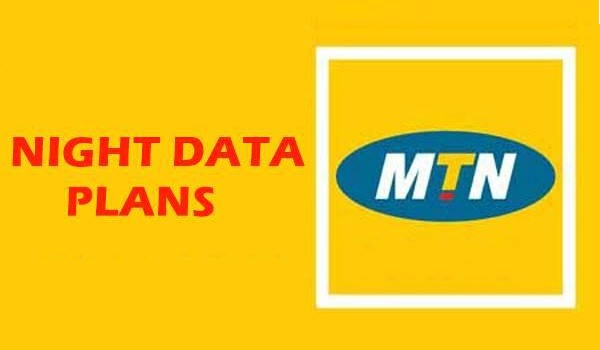 MTN data plans - night