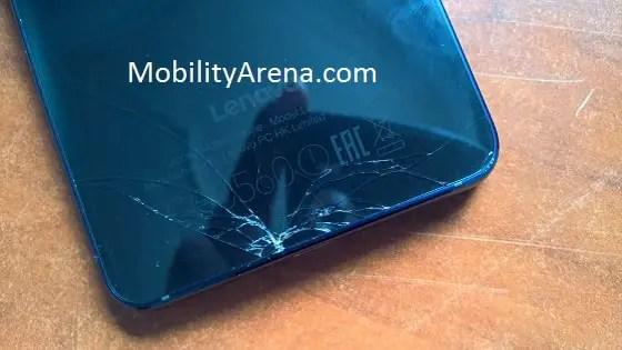 Lenovo Vibe S1 cracked back-min