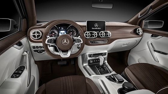 Mercedes-Benz pickup - Concept X-CLASS -interior