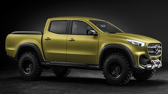 Mercedes-Benz pickup - Concept X-CLASS -side