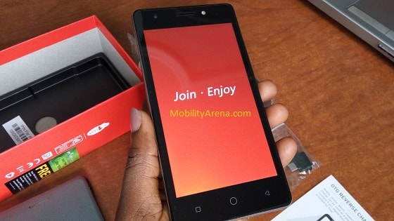 iTel it1516 Plus Photos - splash screen