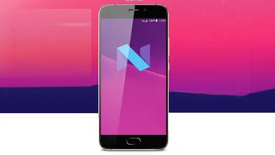 UMI Plus Android 7 Nougat Update