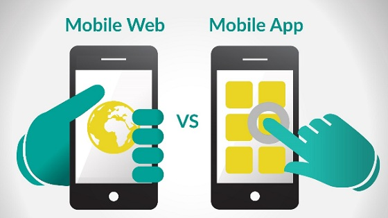 mobile websites versus mobile app