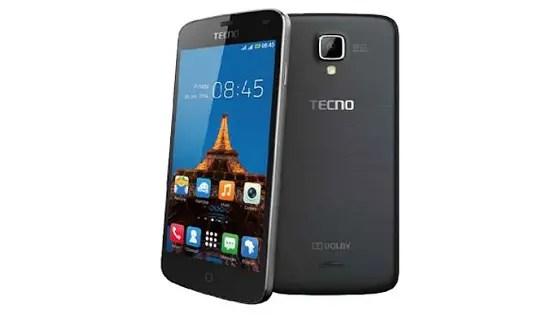 TECNO Y2 front back