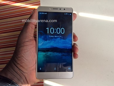 TECNO L9 Plus in hand