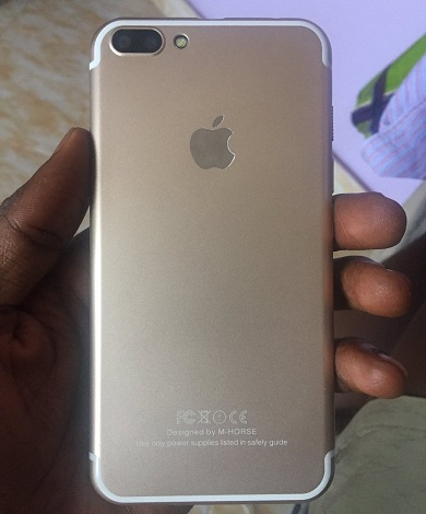 fake iPhone 6 rear