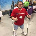 Kevin explains how the M+D Crutch increased his self-confidence.