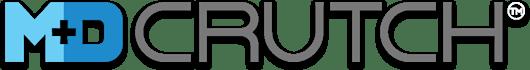 M+D Crutch Grey Logo