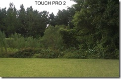 Touch Pro  backyard 100 percent