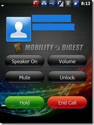 Dialer Lock Screen