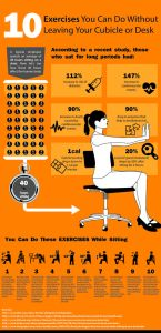 Keeping Active at Work: Stretches to do at Your Desk