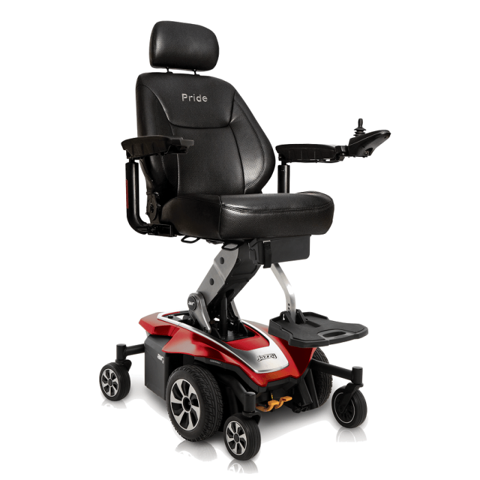 Elevating Seat Power Wheelchairs