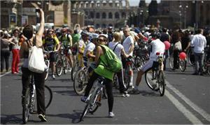 Uso de bikes como transporte é incentivado na Itá