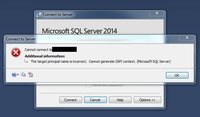 Kerberos_sspi_context_error