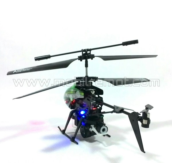 RC Heli WLToys 3.5 Channel rear
