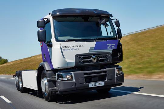 Renault ZE Range T Fuel Eco