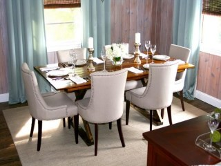 Evlerinize Görsellik Katacak 8 Yemek Odası
