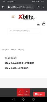 Ucam: aplikacja do Xblitz V3 (1)