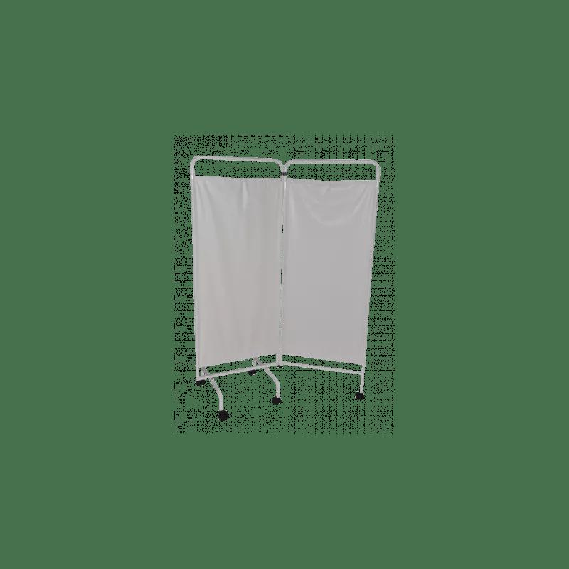 paravent blanc vog sur roulettes 2 3 ou 4 panneaux