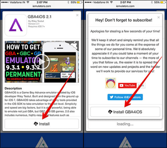 Download and install GBA4iOS