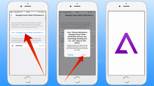 Download and install GBA4iOS on iOS 10 without