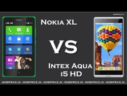 Intex Aqua i5 HD vs Nokia XL