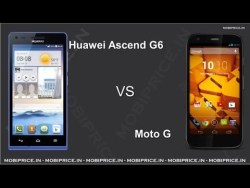 Moto G with Huawei Ascend G6