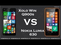 Xolo Win Q900s vs Nokia Lumia 630