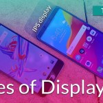 types of displays