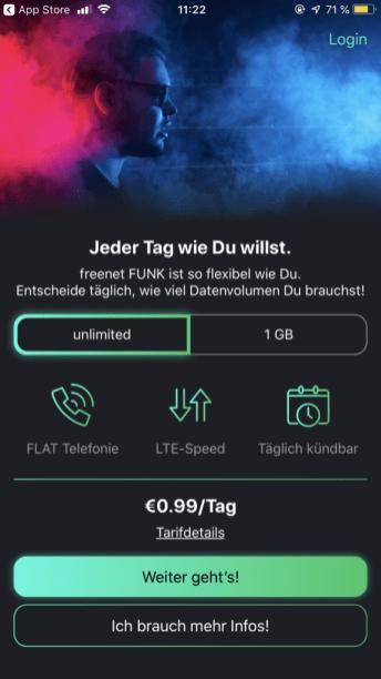 freenet FUNK national unlimited