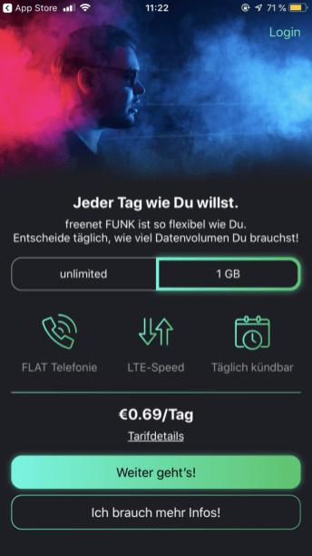 freenet FUNK national 1 GB