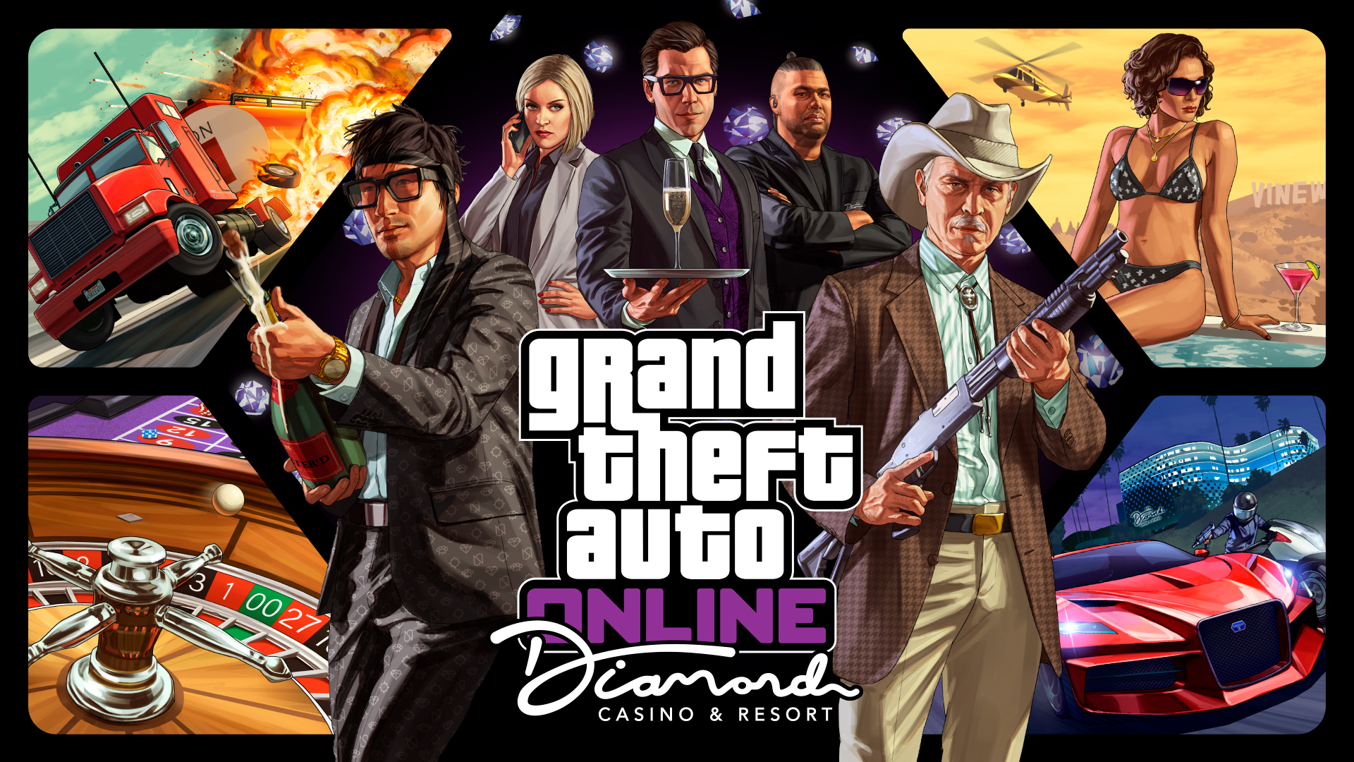 Grand Theft Auto (GTA) V Game Free Download for PlayStation