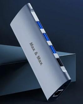 MAX&MAX 11-in-1 HUB an Stylish speediest ultimate PC and Mac HUB