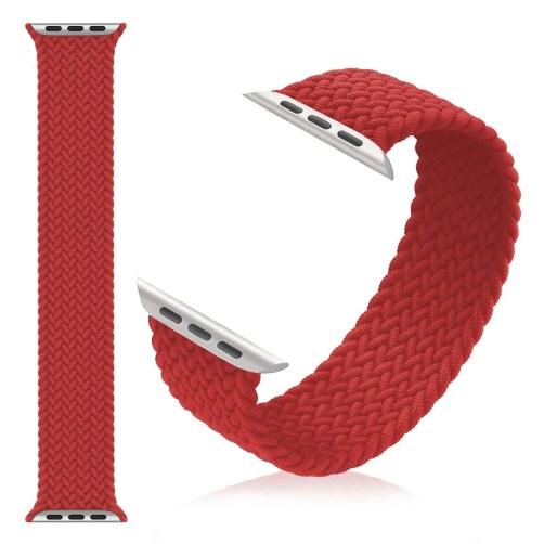 Strap Braided Red 44mm