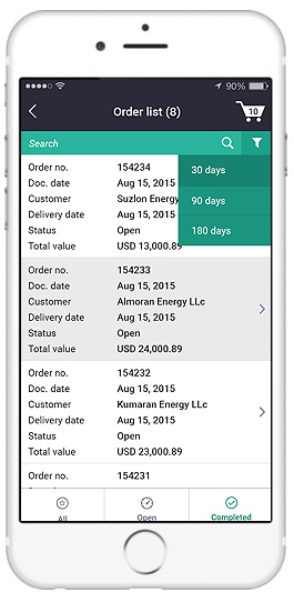 sap create sales order apps