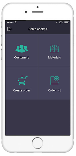 sap sales orders app