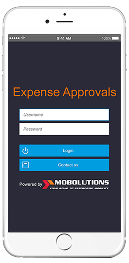 sap expense approvals app