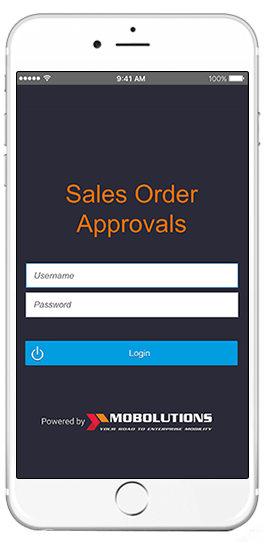 sap sales order approvals app