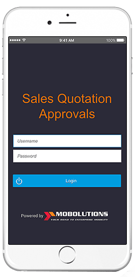 sap sales quotation approvals app