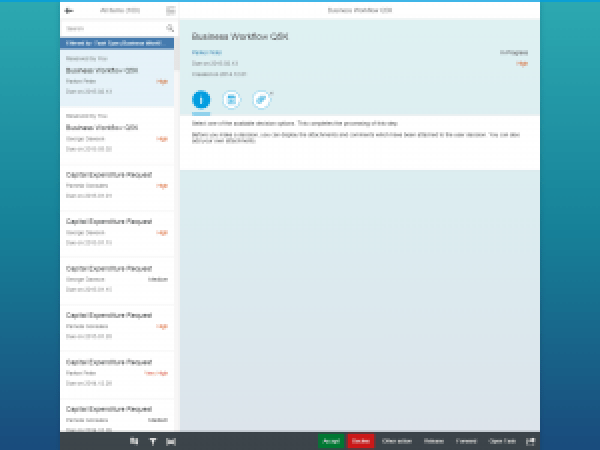 My Inbox Fiori App