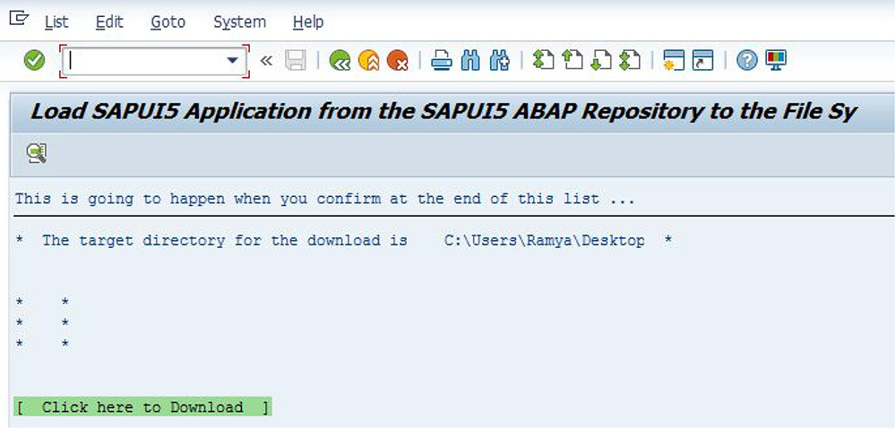 SAP Ui5 Apps