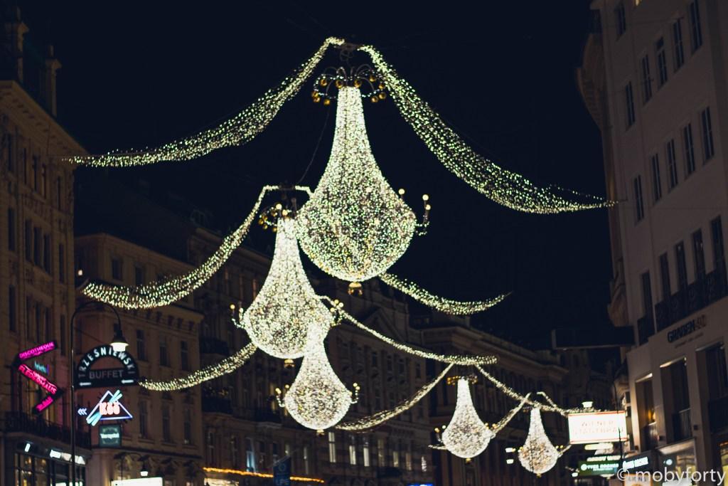 Weihnachtsbeleuchtung Wien Graben