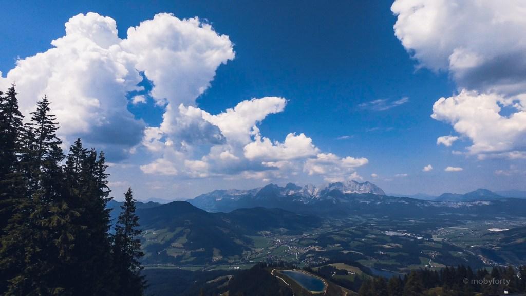 Blick über Kitzbühel