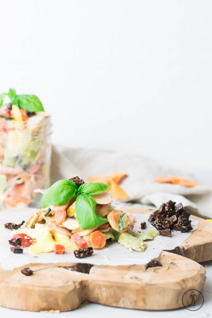 Acht schnelle Rezepte für den Arbeitsalltag - Nudelsalat