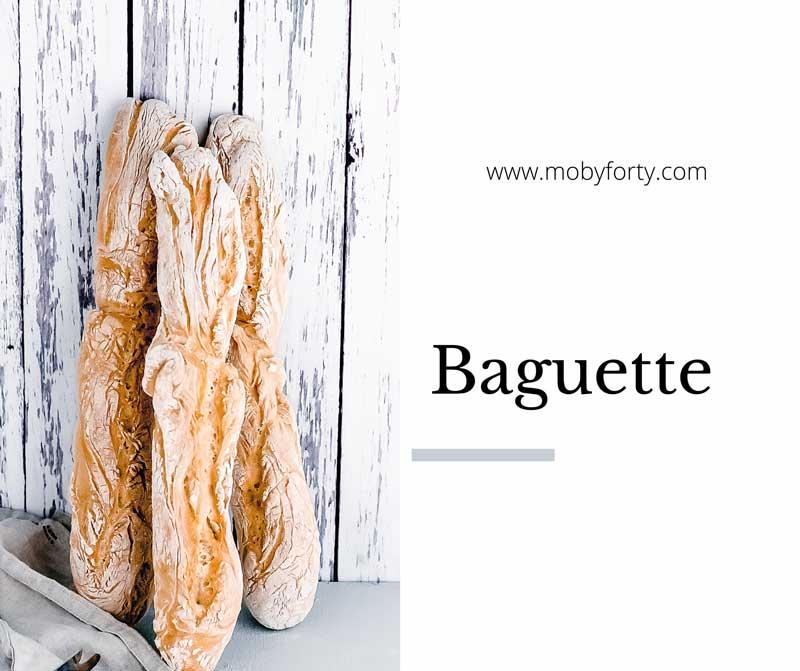 Titelbild zum Blogbeitrag über ein Baguette Rezept
