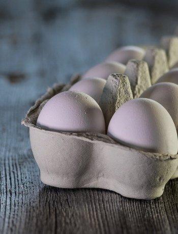 Eier für Eierspätzle