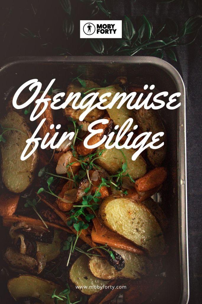 Kartoffeln, Karotten und Zwiebel sind das Ofengemüse für Eilige