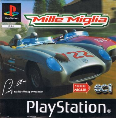 Mille Miglia PlayStation Front Cover
