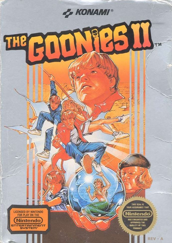 The Goonies Ii For Arcade