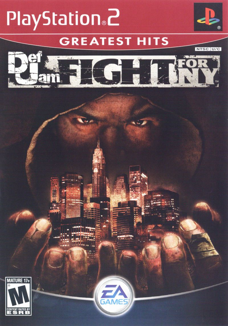 Def Jam Fight For NY 2004 PlayStation 2 Box Cover Art